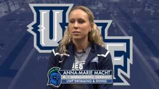 Anna-Marie Macht Reflects on Journey to UWF
