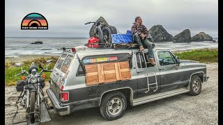 He Lives & Travels Full Time In A 1990 Chevy Suburban - Life In A Micro Camper