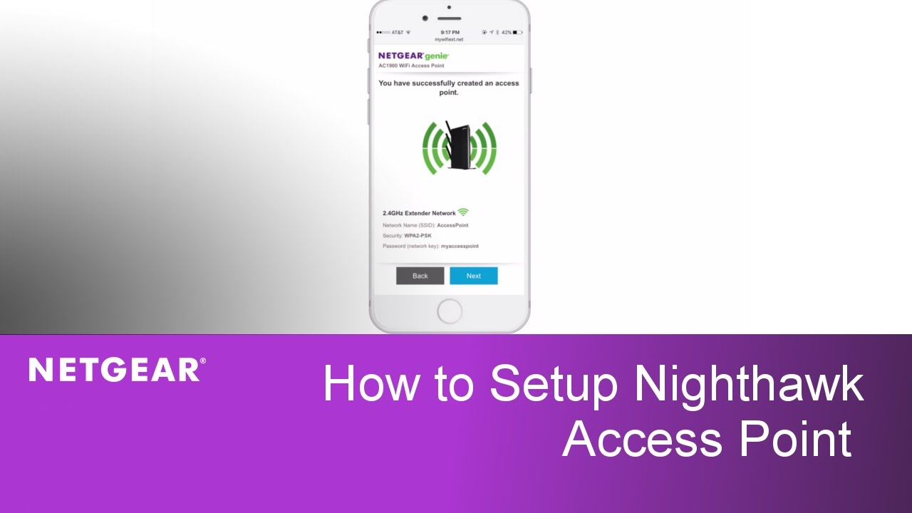 How to Install the AC1900 Nighthawk Access Point | NETGEAR