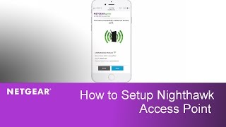 how to install the ac1900 nighthawk access point   netgear