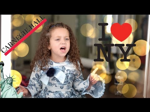 Performing at CARNEGIE HALL!!! - NYC vlog