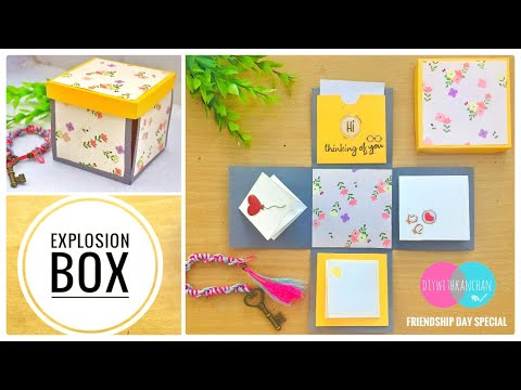 How To Make Explosion Box | Explosion Box Tutorial | DIY Explosion Box | Friendship Day Gift