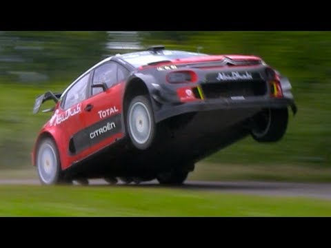 Citroën WRC Test | Big Jumps & Flat Out