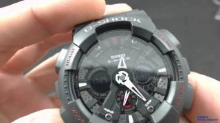 Як так сверите часослов G-Shock / How to set your time on a G-Shock