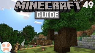 TREE FARM! | The Minecraft Guide - Minecraft 1.14.4 Lets Play Episode 49
