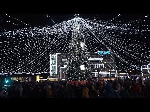 В Солнечногорске открылась Рождественская ярмарка