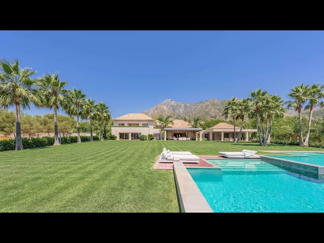 Luxury Villa for sale in La Quinta de Sierra Blanca Marbella