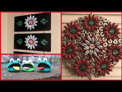 unique-bottle-cap-craft-decoration-ideas