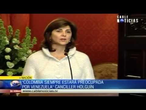 Colombia siempre estará preocupada por Venezuela: Canciller Holguín