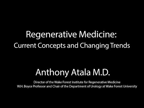 Anthony Atala, M.D. - Southwestern University Brown Symposium XXXVII