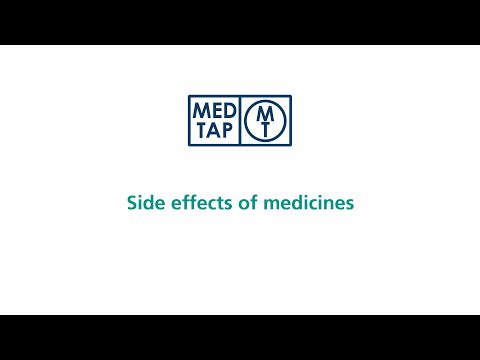 MedTap: Side effects of medicines