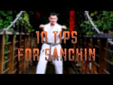 Sanseru Training Drill: 10 tips for Sanchin stance