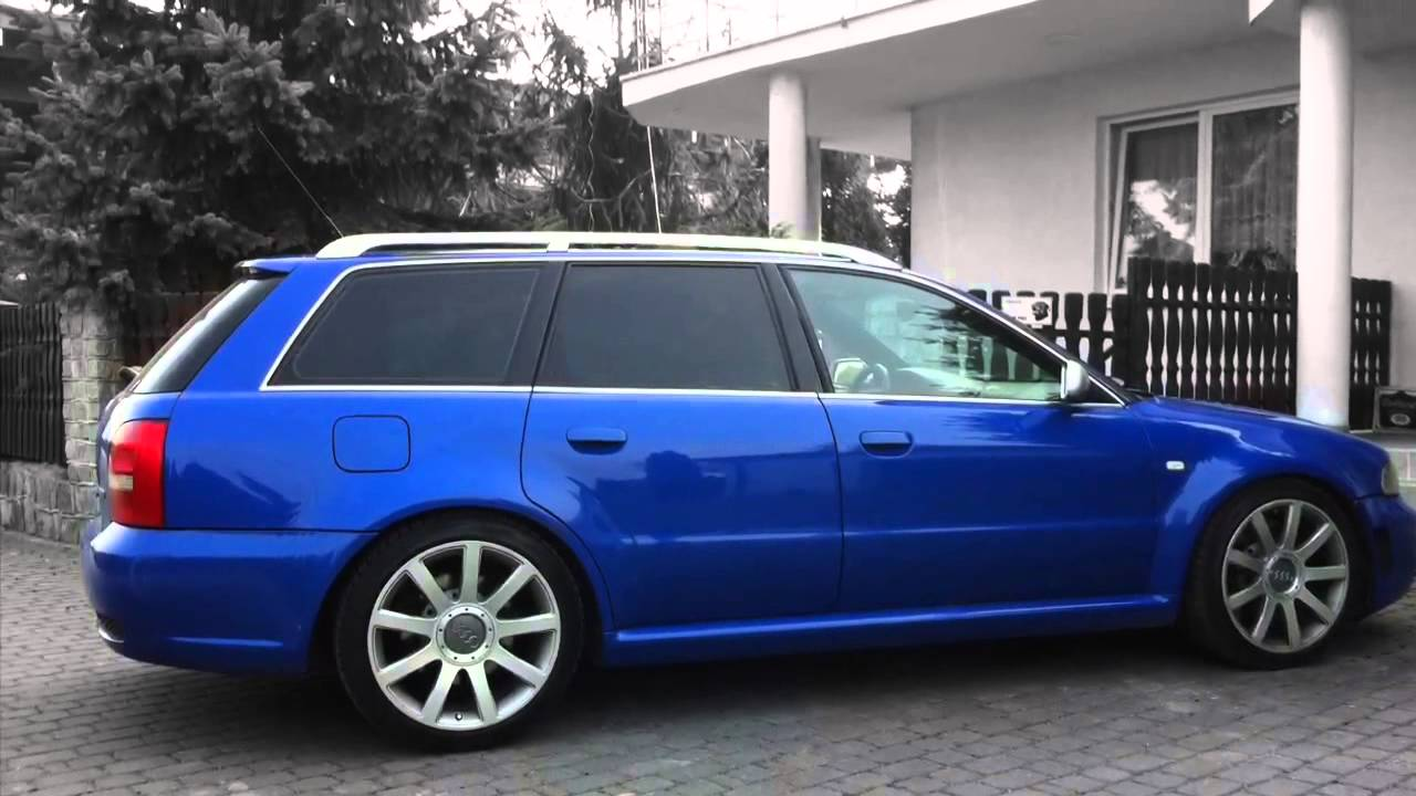 Audi B5 Rs4 Nogaro Blue Tribute Youtube