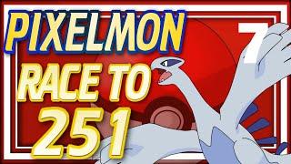 Pixelmon Race to 251 - Ep7: Double Legendaries! (Minecraft Pixelmon 4.0.5) All New Johto Pixelmon!