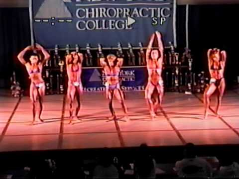 1996 NPC New York State Chiropractic College Atlantic Coast Natural Bodybuilding Contest