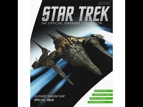 Star Trek Official Starships Collection Special Issue: Altamid Swarm Ship Review