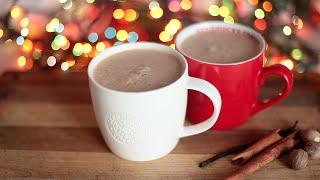 Зимний рождественский напиток с пряностями | Веганский рецепт