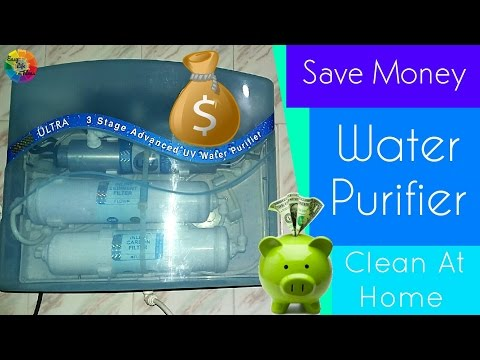 Water Purifier Clean at Home & Save Money
