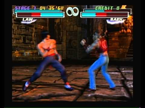 """""""Tekken Tag Tournament"""" Playstation 2 (PS2) gameplay (no ..."""