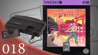 China Warrior (The Kung Fu) [018] TurboGrafx-16 Longplay/Walkthrough/Playthrough (FULL GAME)