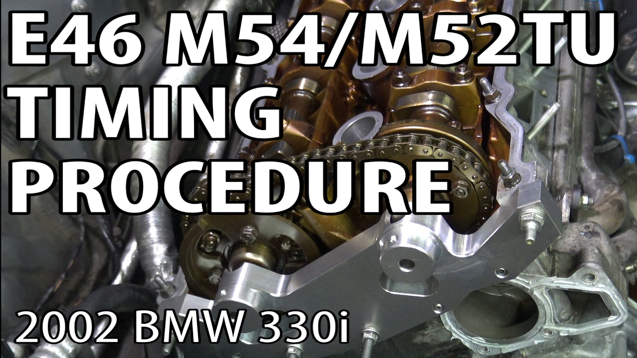 BMW E46 Install Timing Components & Reset Timing #