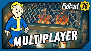 Fallout 76 as an Online Multiplayer Survival Game at Level 1