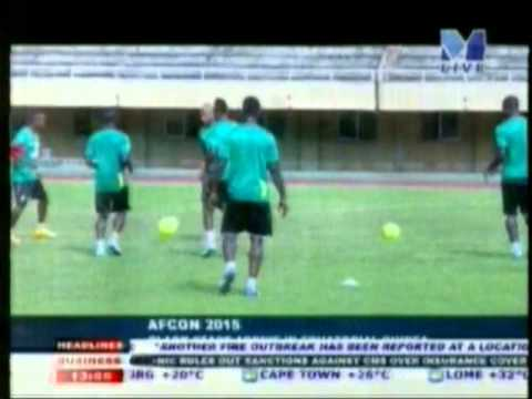 Black Star touch down in Equatorial Guinea ahead of AFCON 2015
