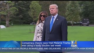 Conspiracy Theory On Twitter Says Melania Trump Uses Body Double
