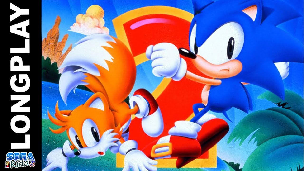 Sonic The Hedgehog 2 No Special Stages Genesis Mega