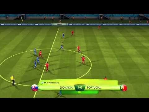 2014 FIFA World Cup Brazil Slovakia vs Portugal Gameplay
