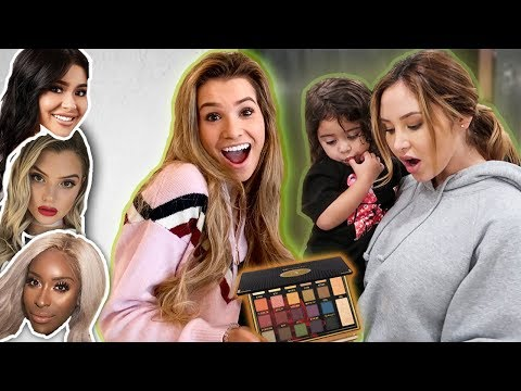 SURPRISING FRIENDS & FAMILY WITH MY MAKEUP!