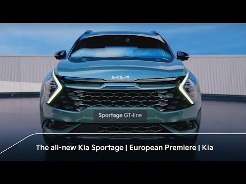 The all-new Kia Sportage | European Premiere