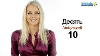How to Count to Ten in Russian