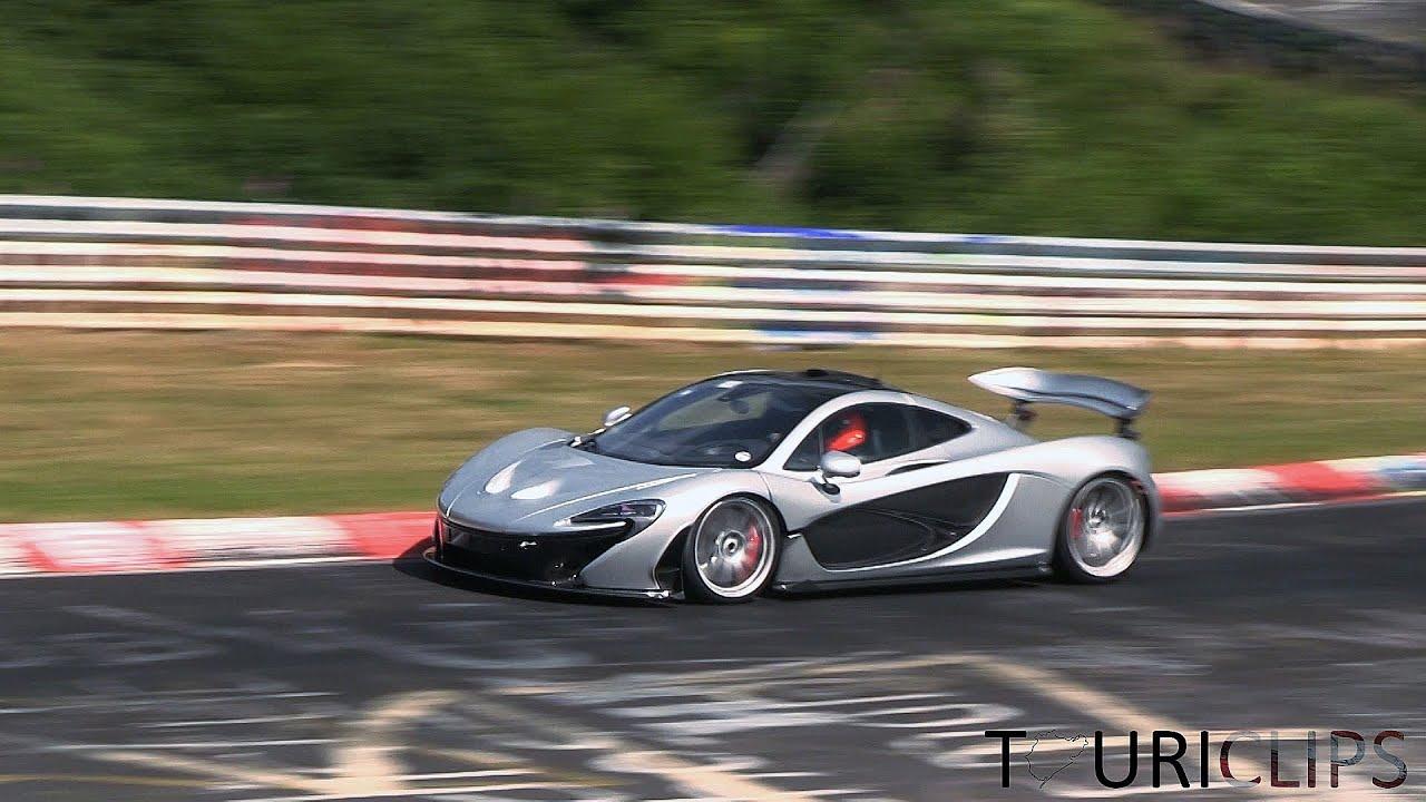 mclaren p1 'xp2r' testing hard at the nürburgring! - youtube