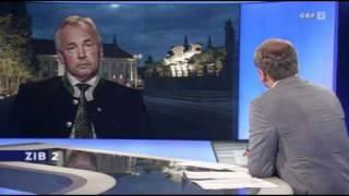 ZIB-2 Live Gespräch mit Gerhard Dörfler  - Verurteilung Uwe Scheuch 2011-08-02