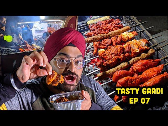 Lajwaab Gravey Mutton & BBQ non veg snacks | Tasty Gaadi
