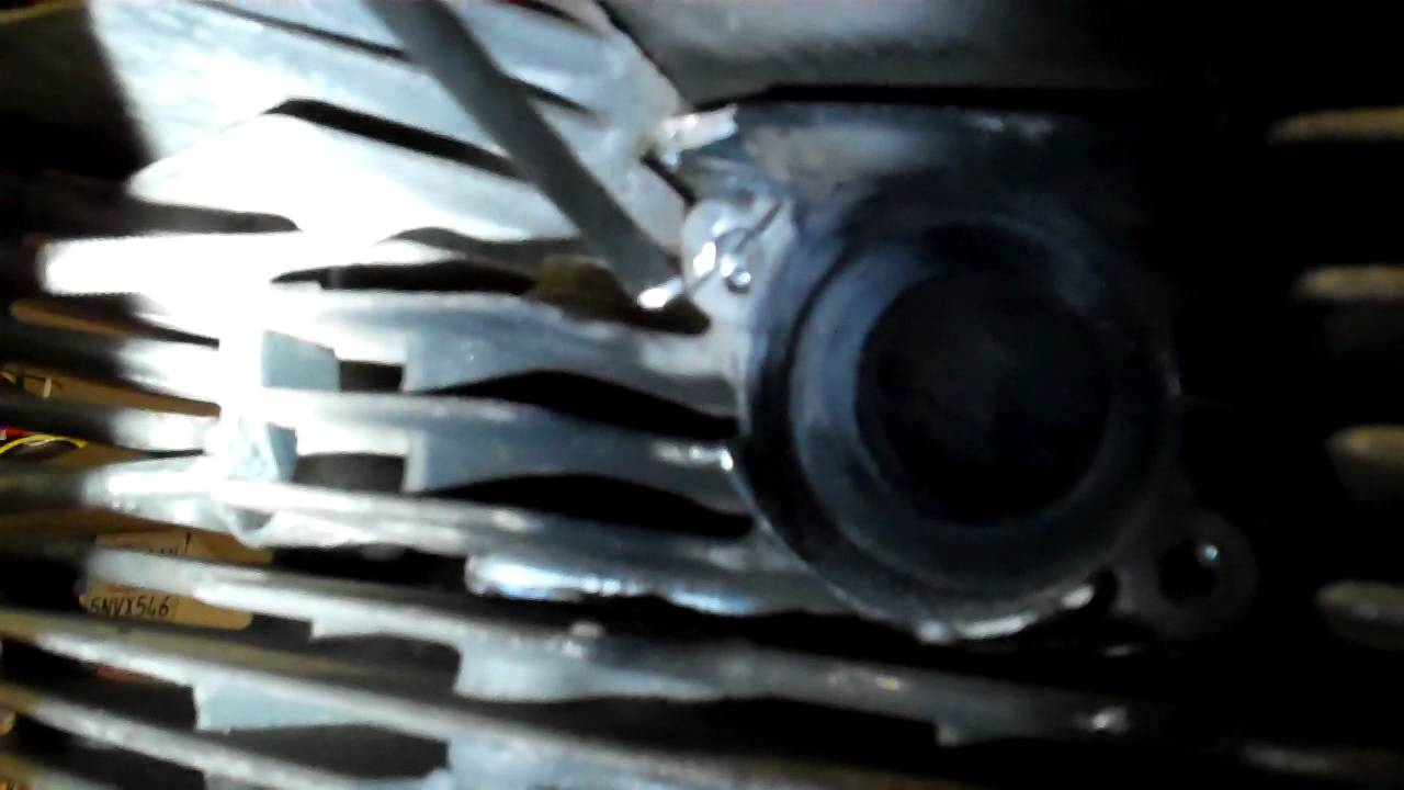 hight resolution of how to remove a broken exhaust stud on a motorcycle