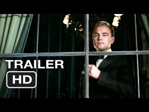 The Great Gatsby Official Trailer #1 (2012) Leonardo DiCapri