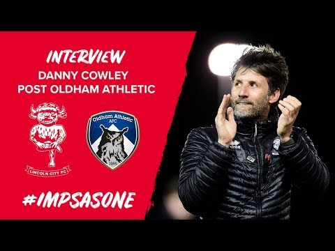 🎥 Post Match | Danny Cowley Post Oldham Athletic