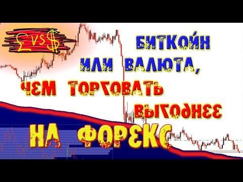 Биткойн или валюта, чем торговать выгоднее на форекс