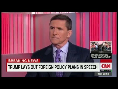Donald Trump foreign policy by General Flynn