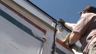 The Off Grid Tiny House Entrance Work