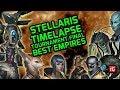Stellaris Timelapse Tournament FINALS, AI User Empires (Megacorp / LeGuin Patch 2.2x, 2019)