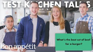 BA Test Kitchen Answers 19 Common Burger Questions | Bon Appétit