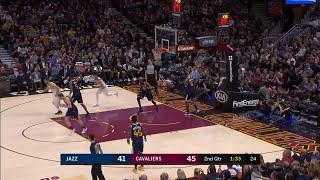 2nd Quarter, One Box Video: Cleveland Cavaliers vs. Utah Jazz