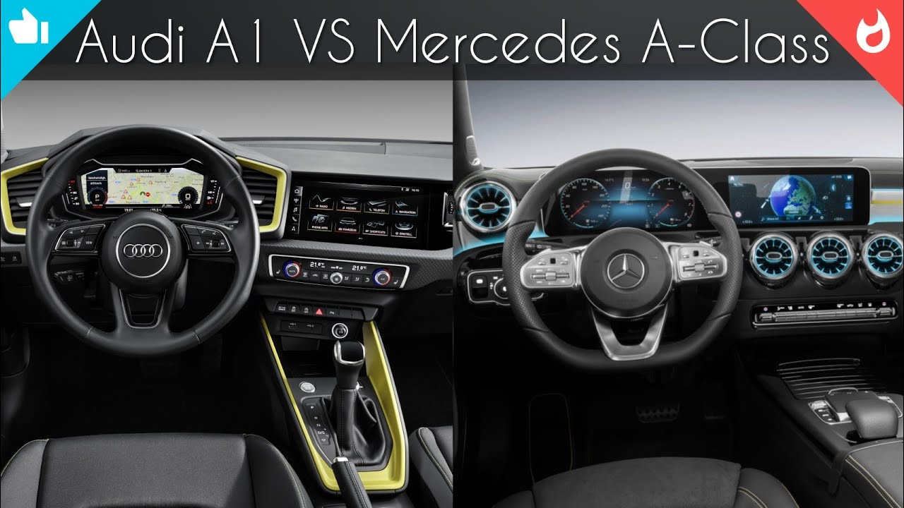 2019 Audi A1 Vs 2019 Mercedes Benz A Class Interior Youtube