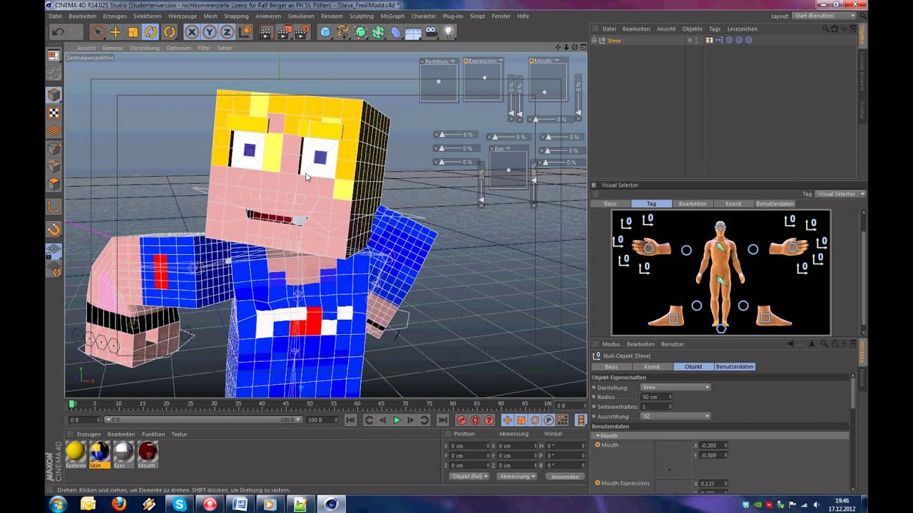 1 rig giveaway and announcements minecraft animation for Make 3d online