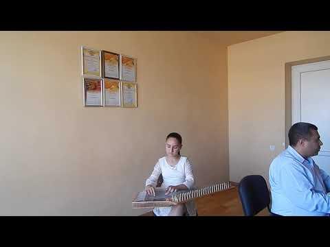 Анна Симонян Армянский канон 10 лет. Цовинар Оганесян ,,Мер айгин,,
