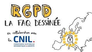 RGPD / GDPR : FAQ avec la CNIL