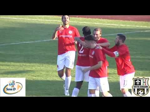 Virtus Bergamo 1909-Cavenago Fanfulla 2-1, 15esima giornata d'andata Gruppo B Serie D 2016/2017